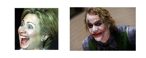 Hillary versus Joker